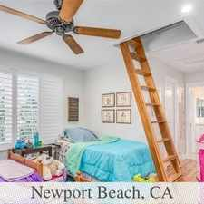 Rental info for House In Move In Condition In Newport Beach in the Balboa Island area