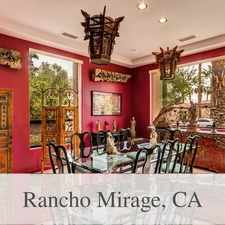 Rental info for Fabulous Sprawling Home On Golf Course. Will Co... in the Rancho Mirage area