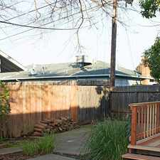 Rental info for Two-bedroom Charmer - This Charmer Is One Half ... in the Sacramento area
