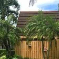 Rental info for 2 Bedrooms Townhouse - Large & Bright. Pet OK! in the Palm Beach Gardens area