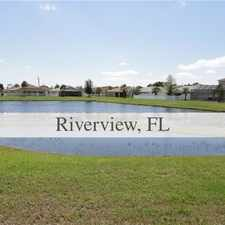 Rental info for House For Rent In RIVERVIEW. in the Tampa area