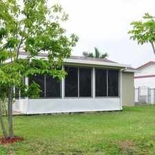 Rental info for You'll Love Living In This Stylish Home! in the North Lauderdale area