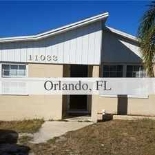 Rental info for This House Is A Must See. Carport Parking! in the Orlando area