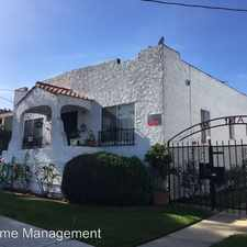Rental info for 747 Belmont Avenue in the Long Beach area