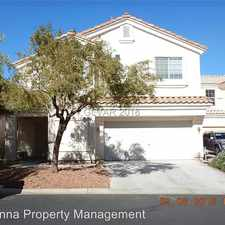Rental info for 8904 Sparkling Creek Ave in the Las Vegas area