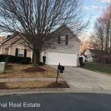 Rental info for 10709 Wading Ln in the Charlotte area