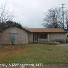 Rental info for 7210 Moss Creek Dr in the San Antonio area