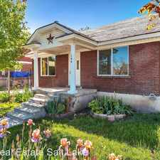Rental info for 146 East Utah Ave