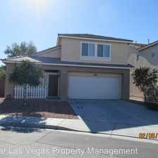 Rental info for 4121 Catalan Sails Ave in the North Las Vegas area