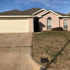 Rental info for 4008 Cypress Gardens Drive in the Fort Worth area