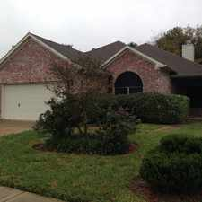 Rental info for 2810 Thompson Creek Drive in the Houston area