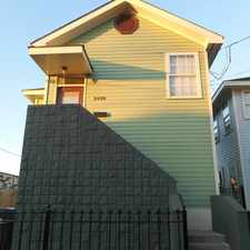 Rental info for Over 840 Sf In New Orleans in the Bayou St. John area