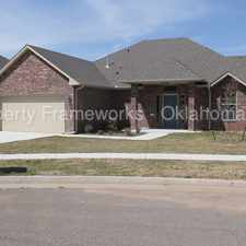 Rental info for Fantastic 4 bedroom home in Piedmont Schools! in the Oklahoma City area