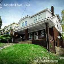 Rental info for 351-353 Marshall Ave in the Perry South area