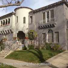 Rental info for 114 S. Sycamore Ave. in the Los Angeles area