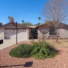 Rental info for 8608 N 55TH AVE - 3BR 2BA Olive/55th Ave - READY TO MOVE IN SINGLE LEVEL HOME! GREAT YARD - REFRIGERATOR INCLUDED - CLOSE TO SCHOOLS AND SHOPPING! in the Phoenix area