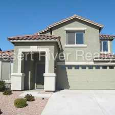 Rental info for single Family in Goodyear close to 303 Freeway
