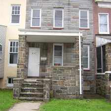Rental info for 3 Bedroom Townhouse in the Baltimore area