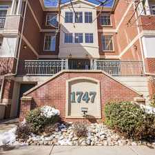 Rental info for 1747 North Washington Street #107 in the Denver area