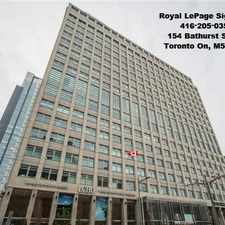 Rental info for 111 Saint Clair Avenue West in the Yonge-St.Clair area
