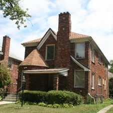Rental info for Asbury Park lower in the Detroit area