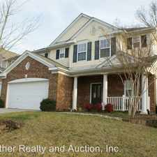 Rental info for 9405 Gentle Stream Lane in the Charlotte area