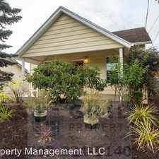 Rental info for 8120 SE Yamhill St in the Portland area