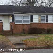 Rental info for 3811 Scott St in the Chesapeake area