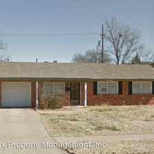 Rental info for 407 Bangor Ave. in the Lubbock area