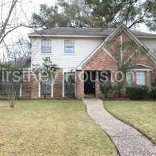 Rental info for 16010 Pebble Bend Dr Houston TX 77068 in the Houston area