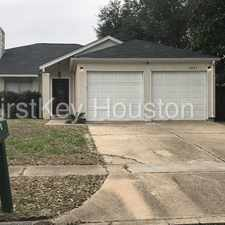 Rental info for 6823 Drewlaine Fields Lane in the Houston area