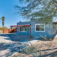 Rental info for Remodeled HOUSE 1 mile from UA Campus!! in the Tucson area