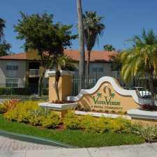 Rental info for 1440 Southwest 104th Path #201 in the University Park area