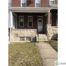 Rental info for 3 bedroom w/den & sunroom off kitchen ,basement in the Baltimore area