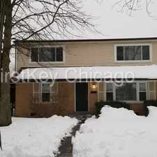 Rental info for 11604 South Kenneth Avenue in the Alsip area