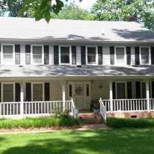 Rental info for A Rambling Colonial Beauty With Space For Every...