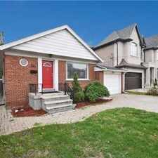 Rental info for 249 Johnston Avenue in the Vaughan area