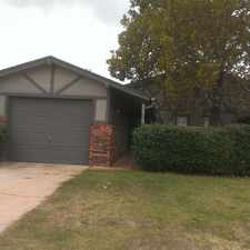 Rental info for 8215 S. Klein Ave in the Oklahoma City area