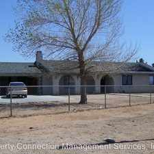 Rental info for 16492 Central Road in the Apple Valley area