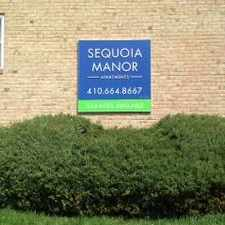 Rental info for Sequoia Manor Apartments in the Baltimore area