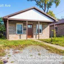 Rental info for 5016 Elliott Ave in the Indianapolis area