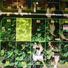 Rental info for 21229 Mulberry Ave Port Charlotte, Build your dream home!