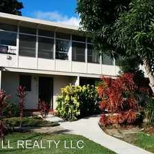 Rental info for 1510/1512 THURSTON AVE. in the Honolulu area