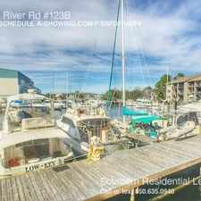 Rental info for 14100 River Rd #123B