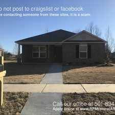 Rental info for 6425 Ridgemist Ln in the Little Rock area