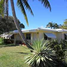 Rental info for 1645 Northeast 12th Street #A in the Fort Lauderdale area