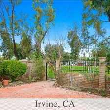 Rental info for Great Two Bedroom Two Bathroom Home In Coveted ... in the Irvine area