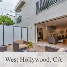 Rental info for New Modern Building In Heart Of West Hollywood. in the West Hollywood area