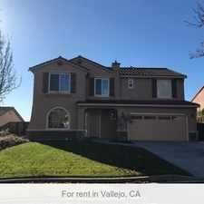 Rental info for Beautiful Home In Hiddenbrooke For Lease. in the Vallejo area