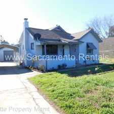 Rental info for 3938 42nd Avenue in the Sacramento area